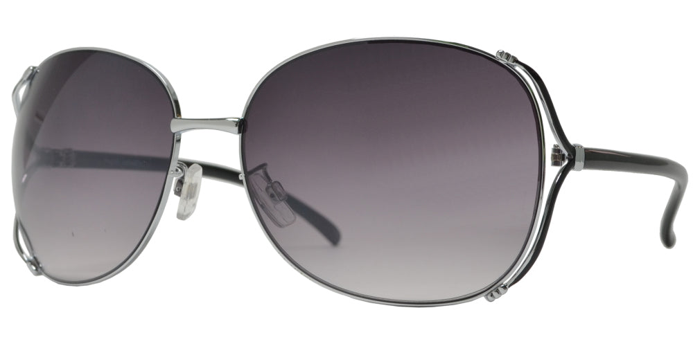 FC 6512 - Fashion Metal Butterfly Sunglasses