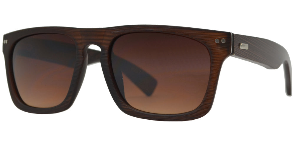 7011 Bamboo - Bamboo Sunglasses with Texture Frame