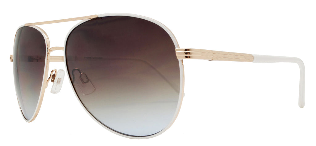 Dynasol Eyewear - Wholesale Sunglasses - FC 6263 - Aviator Women Metal Sunglasses - sunglasses