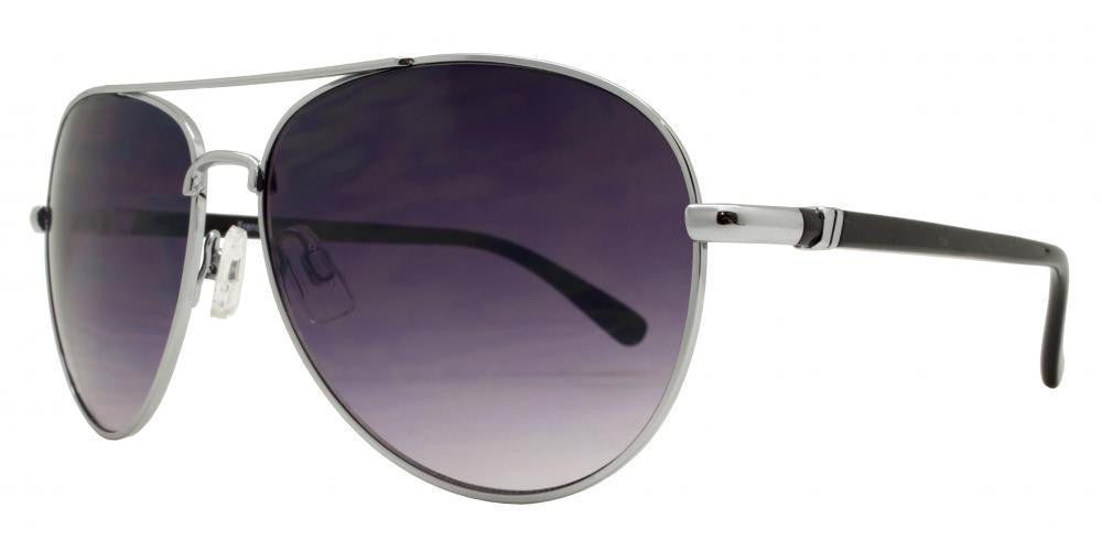 Wholesale - FC 6288 - Oval Shaped Metal Sunglasses - Dynasol Eyewear