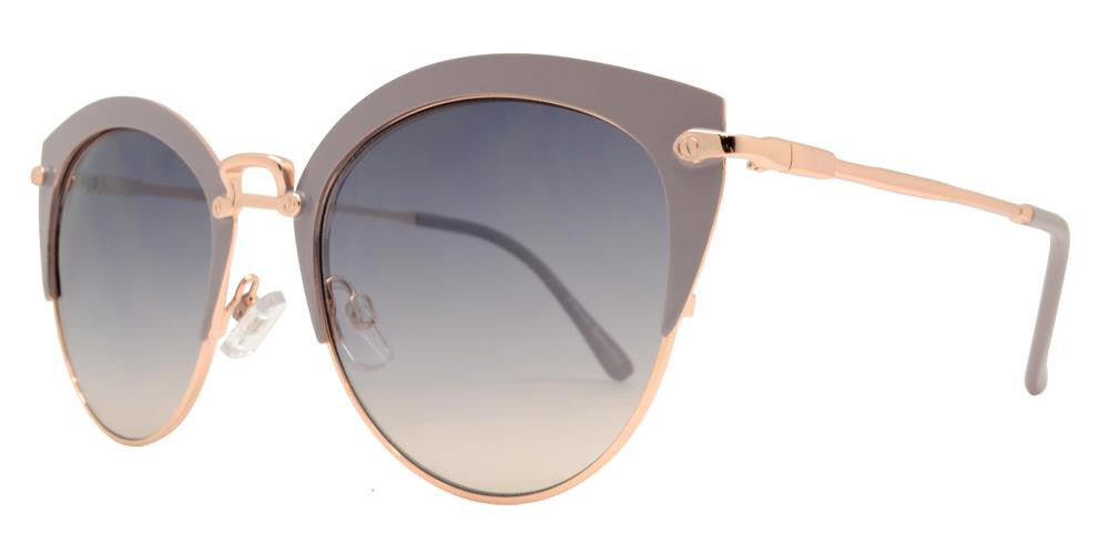Dynasol Eyewear - Wholesale Sunglasses - FC 6335 - Retro Cat Eye Women Metal Sunglasses - sunglasses