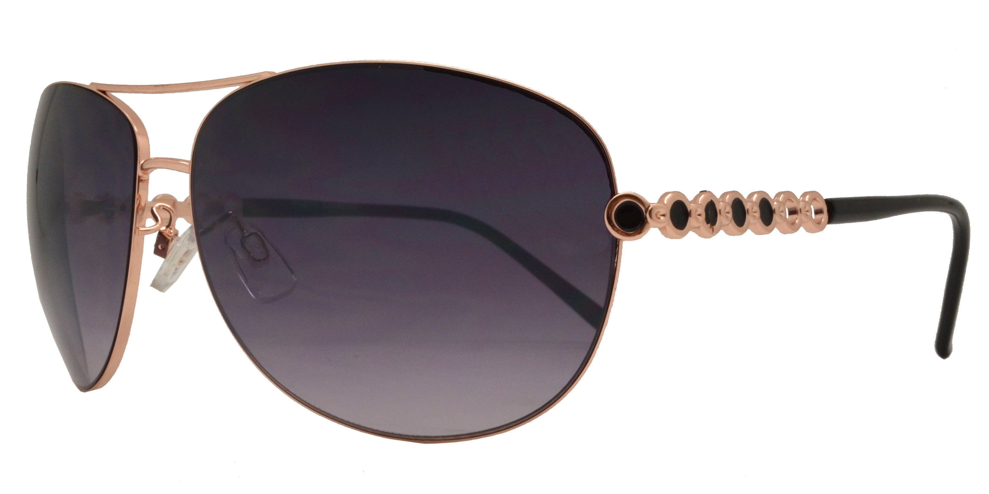 Dynasol Eyewear - Wholesale Sunglasses - FC 6014 - Aviator Women Metal Sunglasses - sunglasses