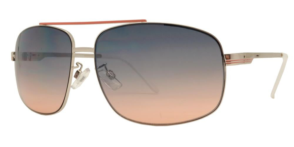 Wholesale - FC 6026 - Rectangular Metal Sunglasses - Dynasol Eyewear