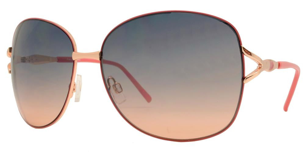 Wholesale - FC 6027 - Butterfly Women Metal Sunglasses - Dynasol Eyewear