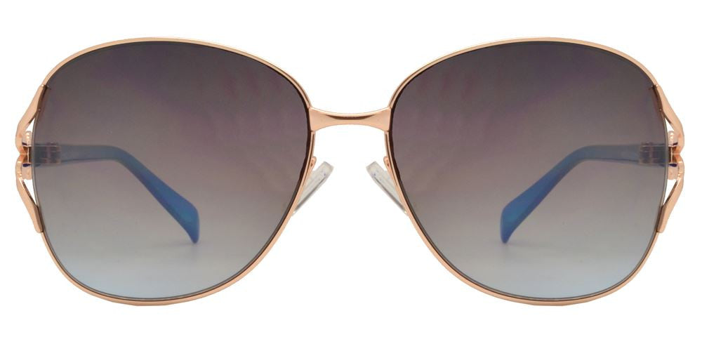 Dynasol Eyewear - Wholesale Sunglasses - FC 6040 - Butterfly Women metal Sunglasses - sunglasses