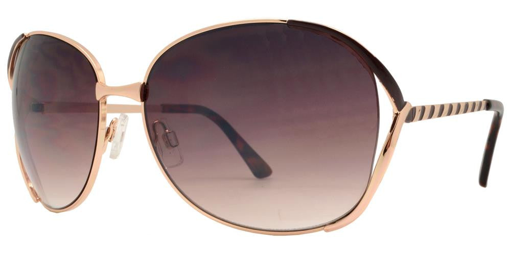 Wholesale - FC 6060 - Butterfly Women Metal Sunglasses - Dynasol Eyewear