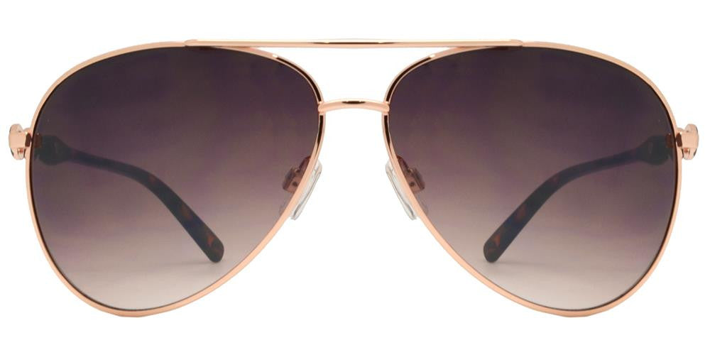 Dynasol Eyewear - Wholesale Sunglasses - FC 6063 - Aviator Women Metal Sunglasses - sunglasses