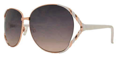 Wholesale - FC 6065 - Butterfly Women Metal Sunglasses - Dynasol Eyewear