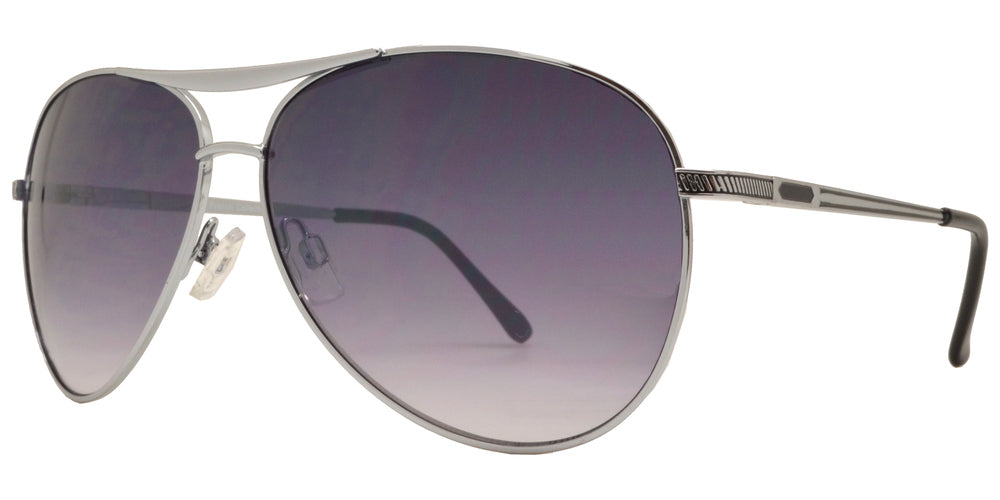 Dynasol Eyewear - Wholesale Sunglasses - FC 6075 - Aviator with Brow Bar Metal Sunglasses - sunglasses