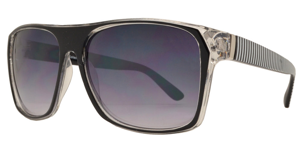 Dynasol Eyewear - Wholesale Sunglasses - FC 6098 - Retro Square Plastic Sunglasses - sunglasses