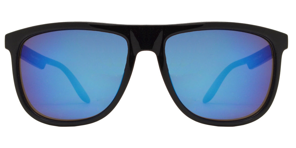 Dynasol Eyewear - Wholesale Sunglasses - FC 6099 - Flat Top Square Modern Plastic Sunglasses - sunglasses