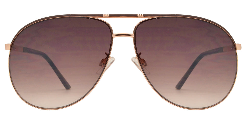 Dynasol Eyewear - Wholesale Sunglasses - FC 6106 - Modern Aviator Metal Sunglasses - sunglasses