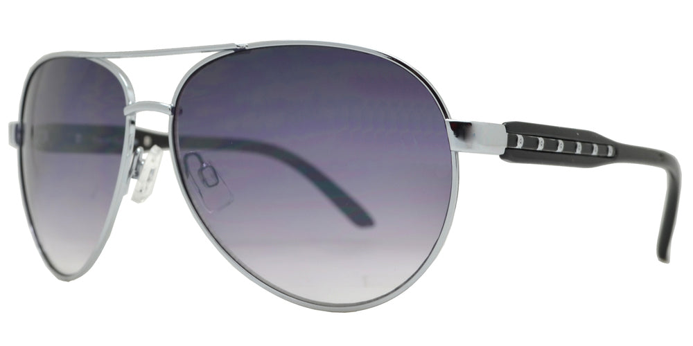 Dynasol Eyewear - Wholesale Sunglasses - FC 6107 - Fashion Aviator Women Metal Sunglasses - sunglasses