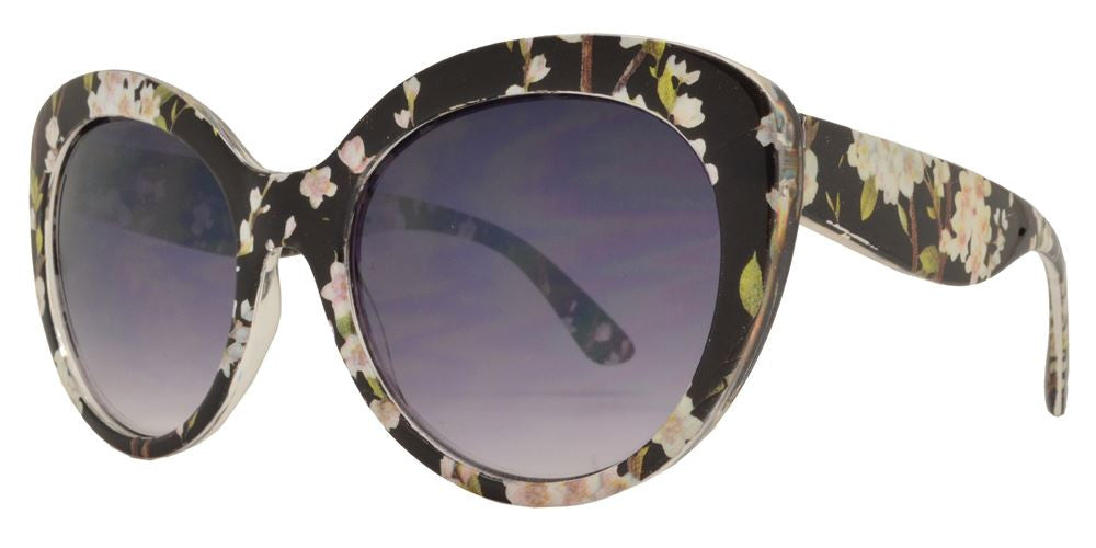 Dynasol Eyewear - Wholesale Sunglasses - FC 6168 - Cat Eye Women Plastic Sunglasses - sunglasses