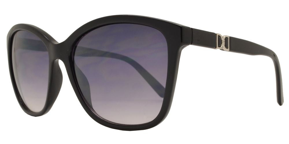 Dynasol Eyewear - Wholesale Sunglasses - FC 6169 - Square Horn Rimmed Women Plastic Sunglasses - sunglasses