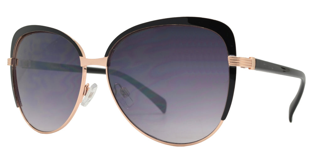 FC 6209 - Cat Eye Women Metal Sunglasses