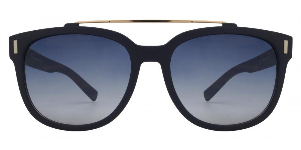 Dynasol Eyewear - Wholesale Sunglasses - FC 6266 - Modern Brow Bar Square Plastic Sunglasses - sunglasses