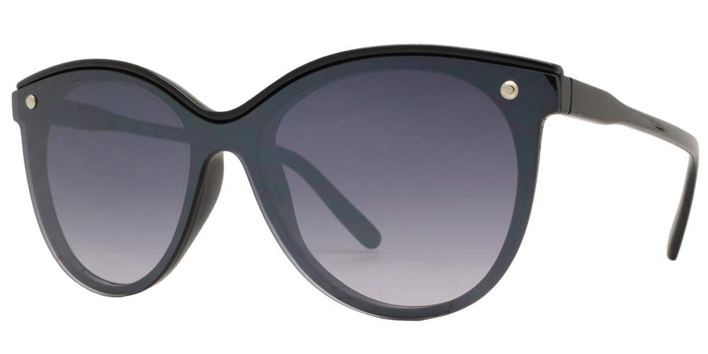 Dynasol Eyewear - Wholesale Sunglasses - FC 6340 - Modern Cat Eye Women Plastic Sunglasses - sunglasses