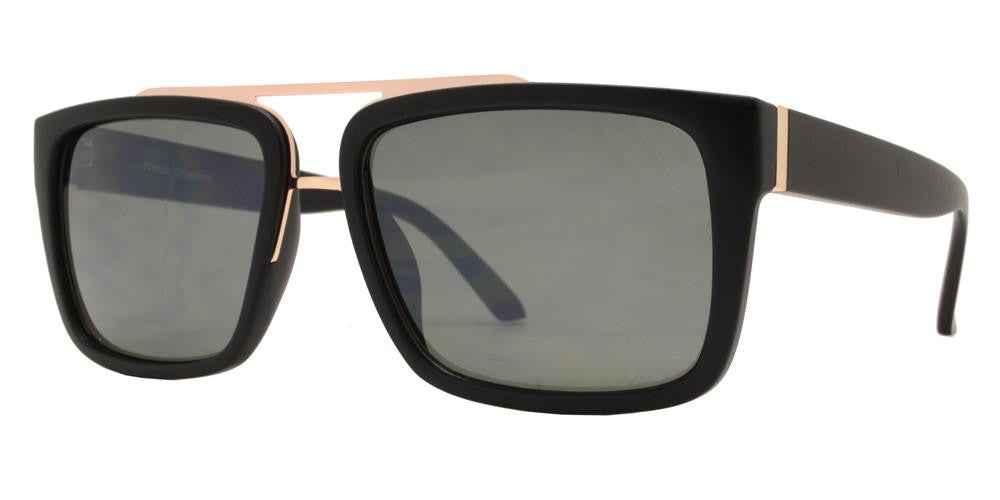 Dynasol Eyewear - Wholesale Sunglasses - FC 6345 - Modern Square Men Plastic Sunglasses - sunglasses
