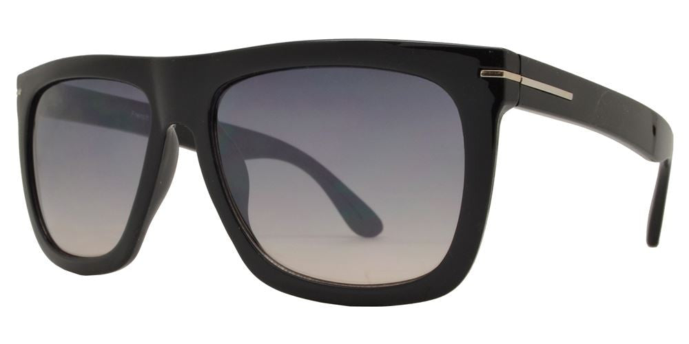 Wholesale - FC 6362 - Flat Top Square Frame Men Plastic Sunglasses - Dynasol Eyewear
