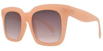 Wholesale - FC 6413 - Women's Large Square Plastic Sunglasses - Dynasol Eyewear