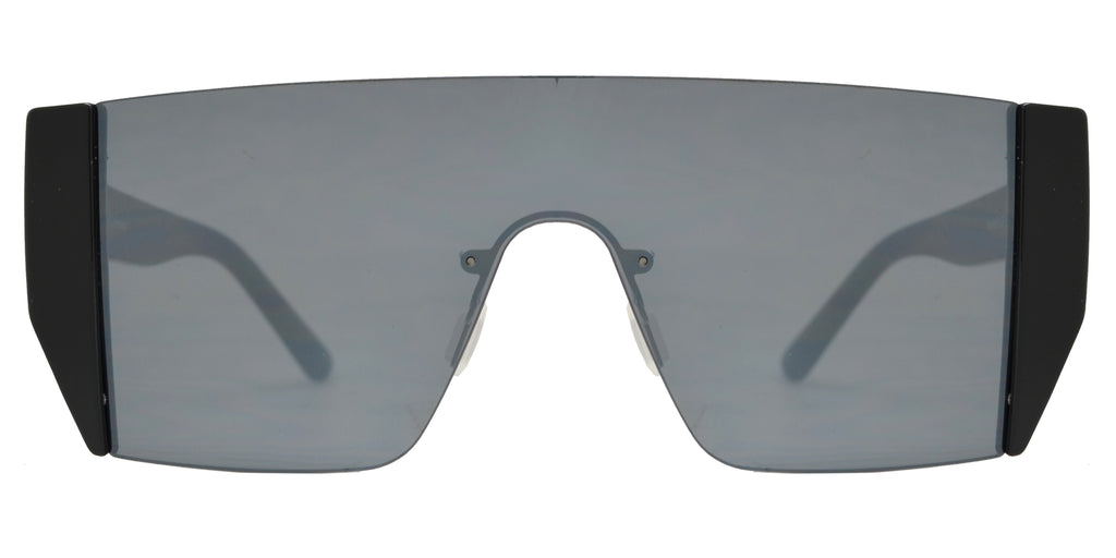Dynasol Eyewear - Wholesale Sunglasses - FC 6421 - Retro One Piece Plastic Sunglasses - sunglasses