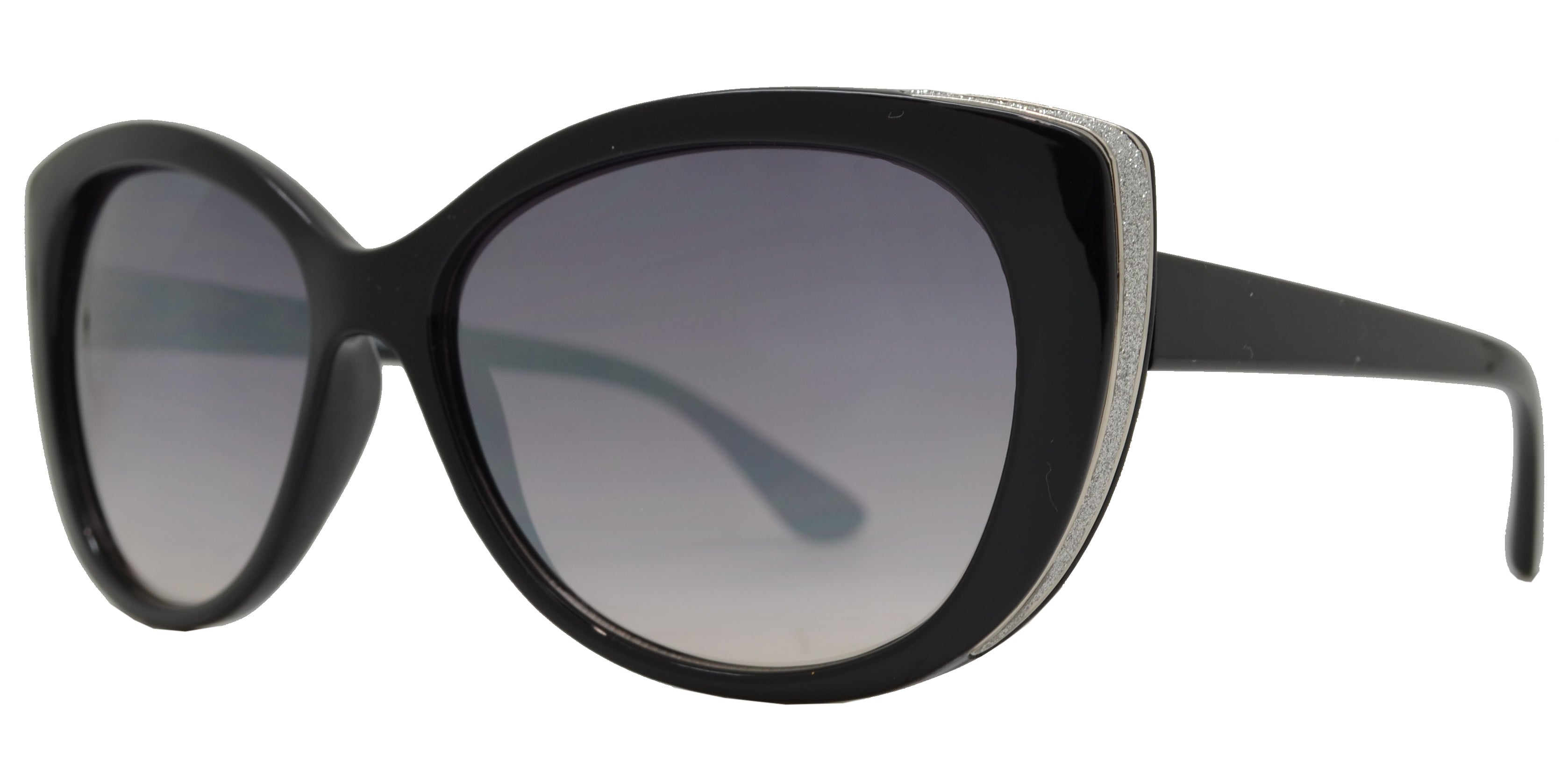 FC 6426 - Women's Chunky Plastic Cat Eye Sunglasses