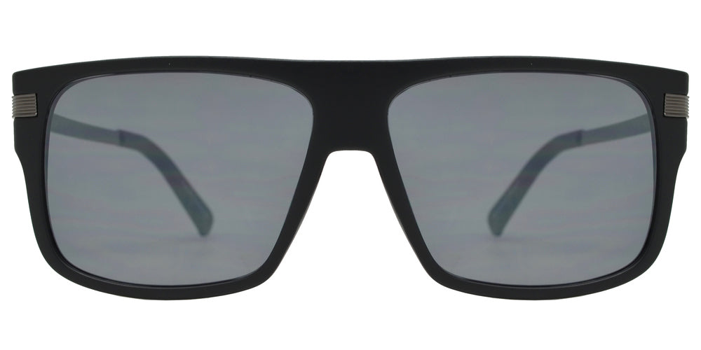 Wholesale - FC 6429 - Square Plastic Flat Top Men Sports Sunglasses with Flat Lens - Dynasol Eyewear