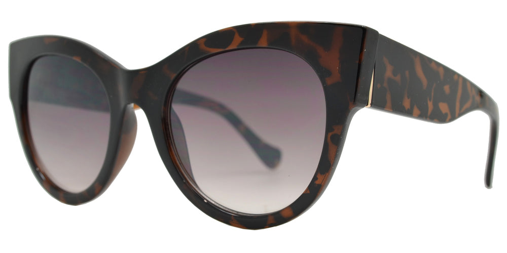 Dynasol Eyewear - Wholesale Sunglasses - FC 6430 - Chunky Plastic Cat Eye Sunglasses for Women - sunglasses