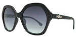 Wholesale - FC 6436 - Women's Plastic Hexagon Sunglasses with Metal Studs - Dynasol Eyewear