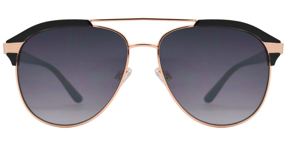 Dynasol Eyewear - Wholesale Sunglasses - FC 6453 - Fashion Retro Metal Aviator Sunglasses - sunglasses