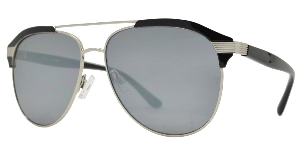 Wholesale - FC 6453 - Fashion Retro Metal Aviator Sunglasses - Dynasol Eyewear