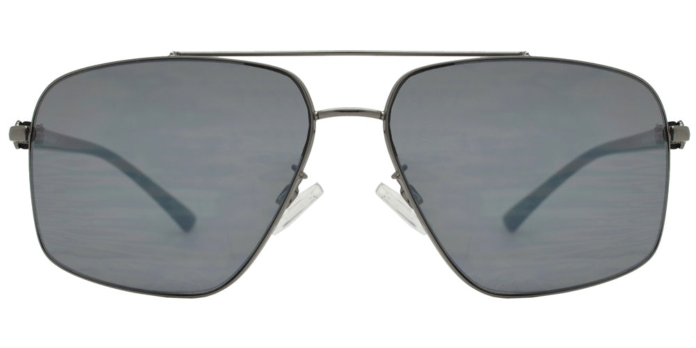 Dynasol Eyewear - Wholesale Sunglasses - FC 6454 - Mens Metal Rectangle Aviator Sunglasses - sunglasses