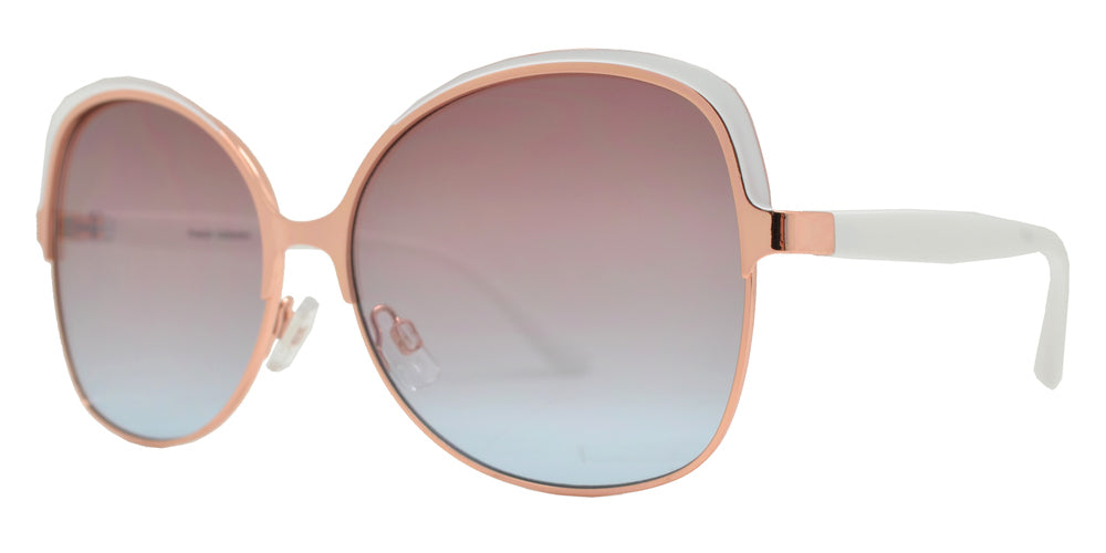 Wholesale - FC 6455 - Fashion Square Metal Butterfly Sunglasses - Dynasol Eyewear