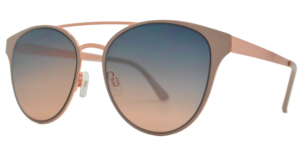 FC 6457 - Round Metal Retro Sunglasses