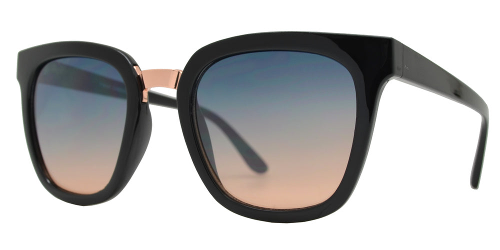 FC 6463 - Womens Square Plastic Sunglasses