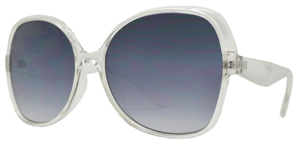 FC 6471 - Butterfly Frame Plastic Sunglasses