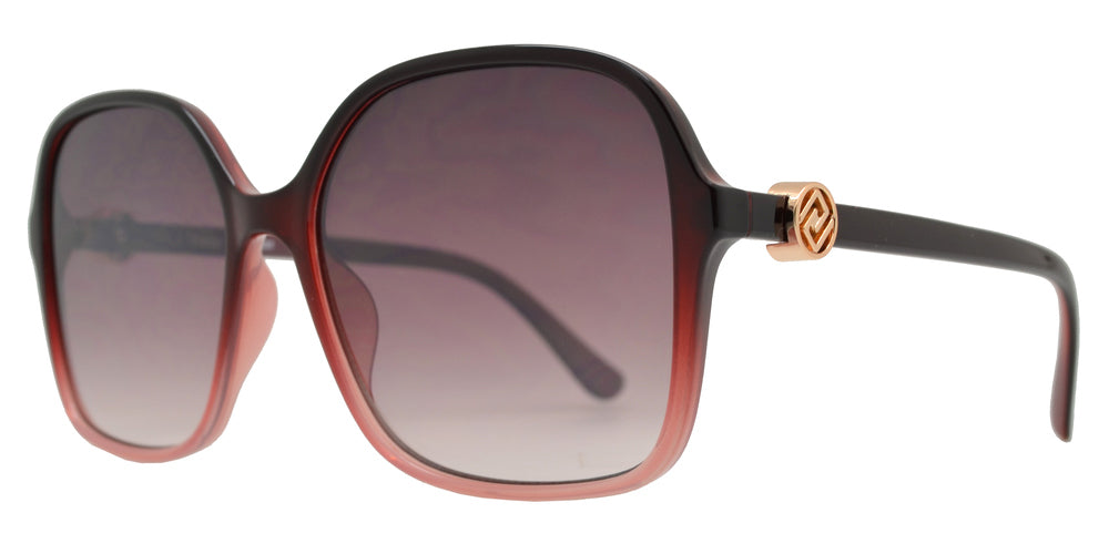 FC 6480 - Square Sunglasses with Metal Accent
