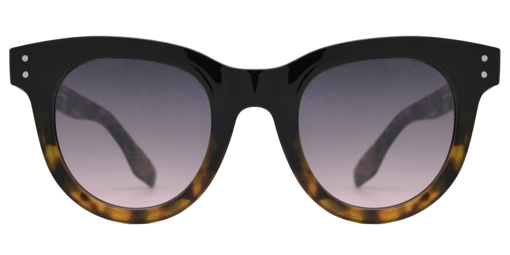 FC 6482 - Plastic Cat Eye Sunglasses with Flat Lens