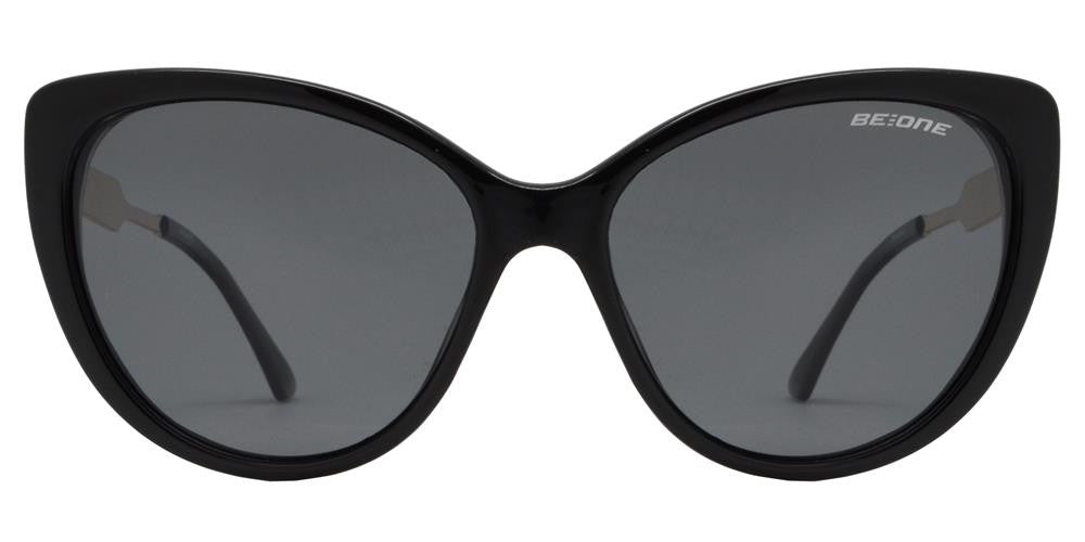 Dynasol Eyewear - Wholesale Sunglasses - PL Ivy - Polarized Women Vintage Cat Eye Plastic Sunglasses - sunglasses