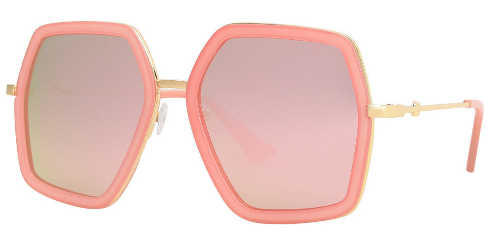 Wholesale - 8784 - Bulk Oversize Hexagon Sunglasses - Dynasol Eyewear