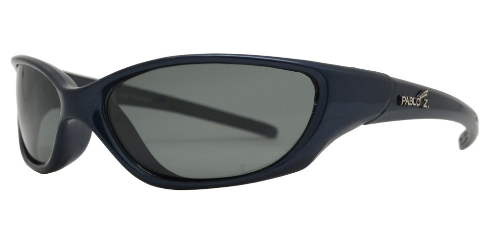 PL Jacob - Classic Sport Wrap Around 1.1 MM Plastic Polarized Sunglasses