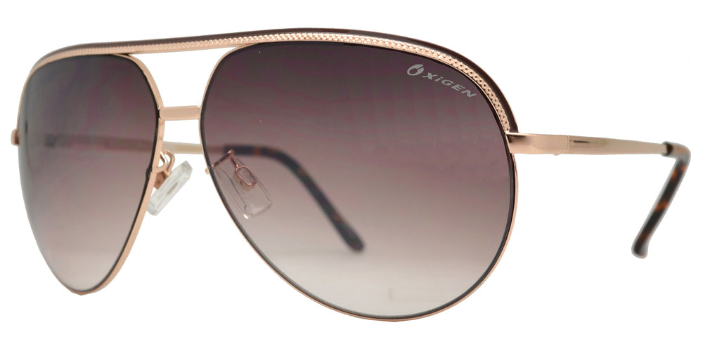 Dynasol Eyewear - Wholesale Sunglasses - OX 2800 - Modern Metal Aviator Sunglasses - sunglasses