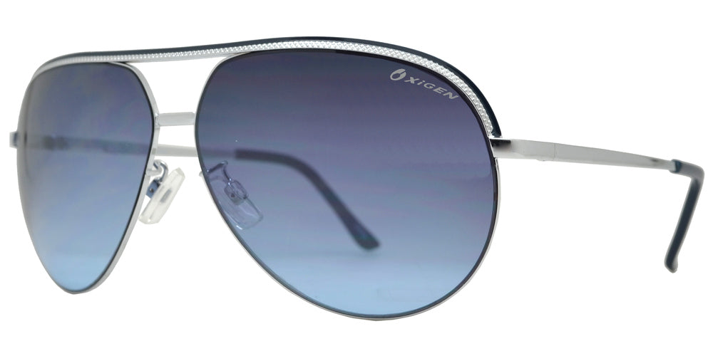 Wholesale - OX 2800 - Modern Metal Aviator Sunglasses - Dynasol Eyewear