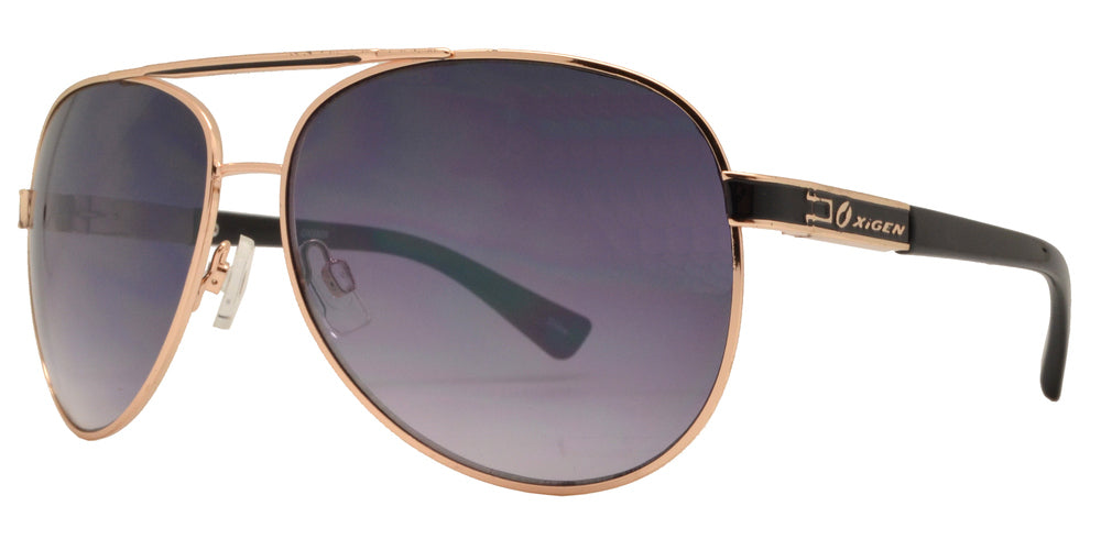 Wholesale - OX 2826 - Classic Metal Aviator with Brow Bar Sunglasses - Dynasol Eyewear