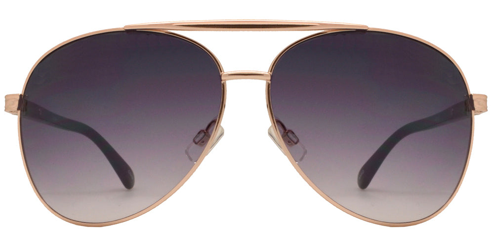 Wholesale - OX 2846 - Classic Aviator with Brow Bar Metal Sunglasses - Dynasol Eyewear