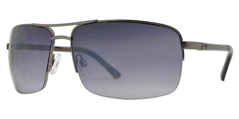 Wholesale - OX 2848 - Men's Metal Rectangular Sunglasses - Dynasol Eyewear