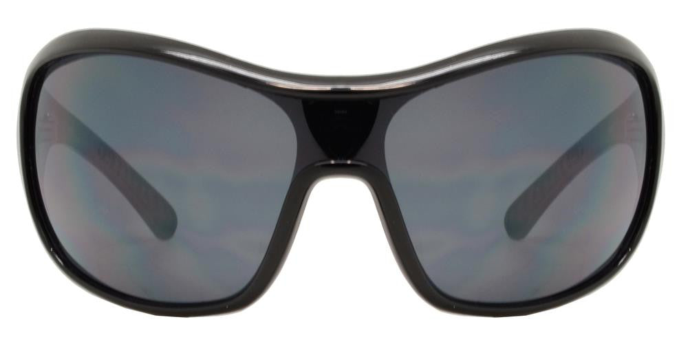 Dynasol Eyewear - Wholesale Sunglasses - OX 7401 - One Piece Shield Wrap Around Plastic Sunglasses - sunglasses