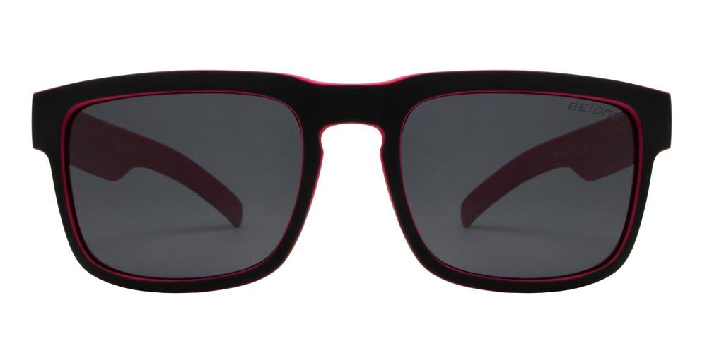 Wholesale - PLJ 3005 - Junior Square Flat Top Keyhole Polarized Sunglasses - Dynasol Eyewear