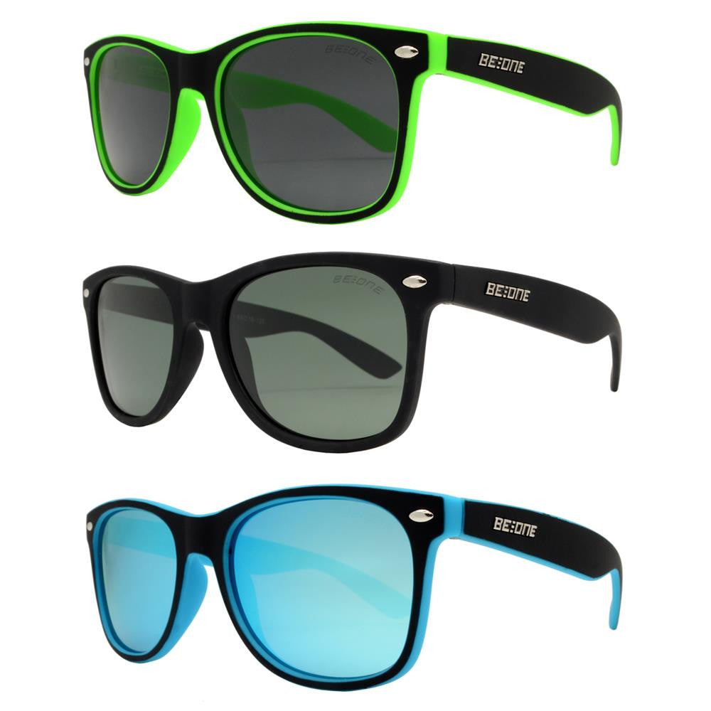 Dynasol Eyewear - Wholesale Sunglasses - PLJ 3002 - Junior Classic Horn Rimmed Polarized Sunglasses - sunglasses
